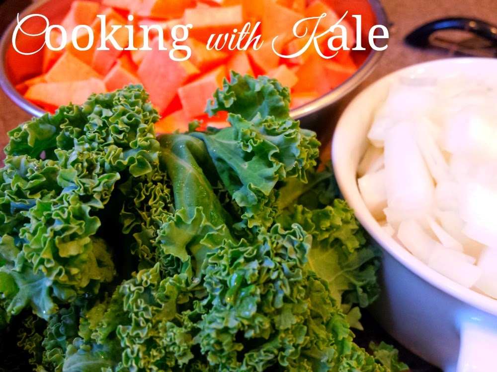 Cooking with Fresh Produce: Three simple recipes using Kale