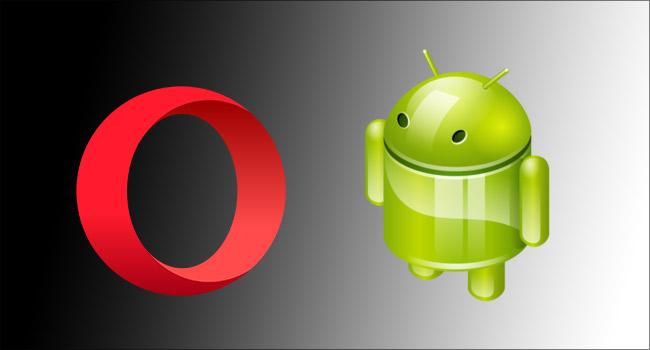 Android Opera Tarayıcısını Gece Modunda Kullan- www.ceofix.com