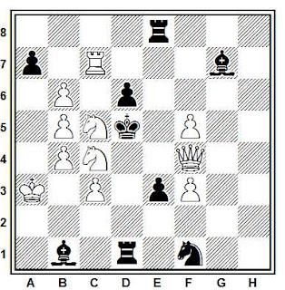 Problema de mate en 2 compuesto por Werner Issler (2º recomendación, T. T. British Chess Federation 1959-60)