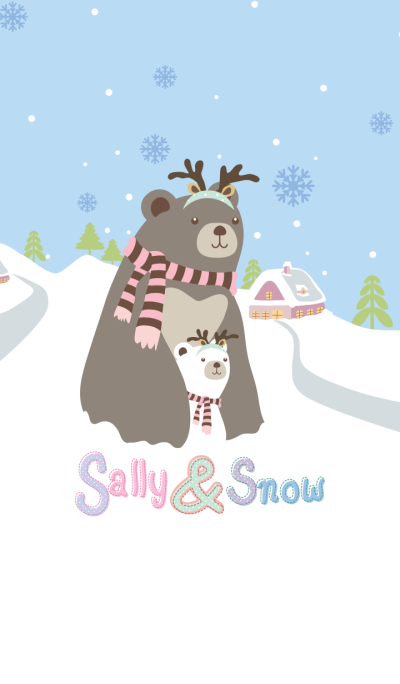 Sally & Snow Bear