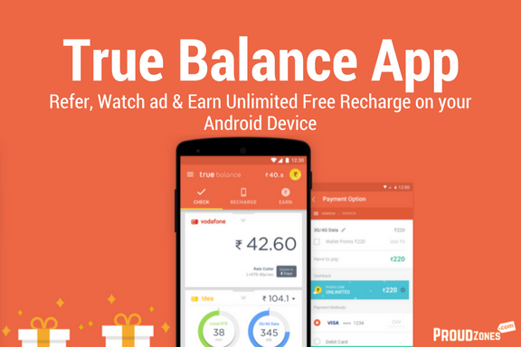 True Balance App: Refer, Watch ad & Earn Unlimited Free Recharge