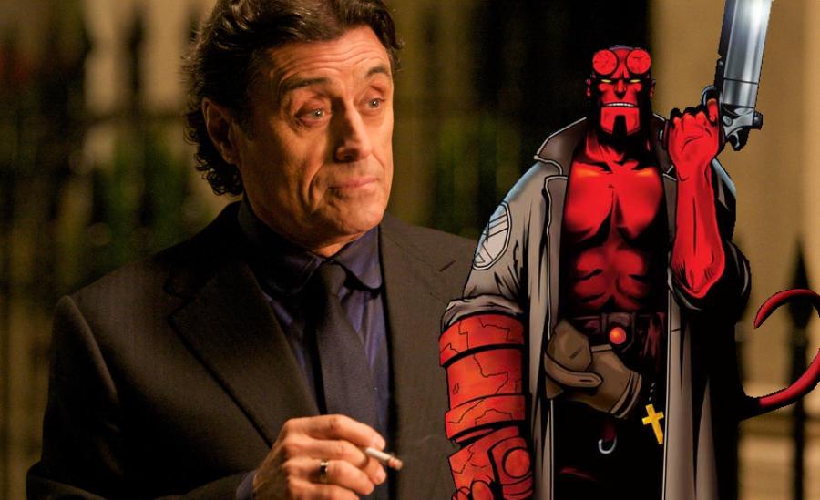 """Ian McShane será o pai adotivo de """"Hellboy"""" no reboot com David Harbour"""