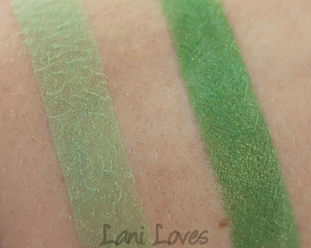 Notoriously Morbid Brad Power Eyeshadow Swatches & Review