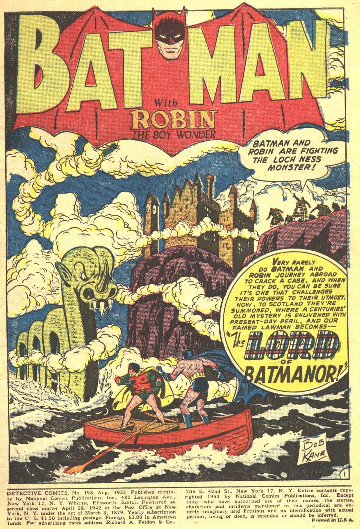 Detective Comics (1937) 198 Page 2