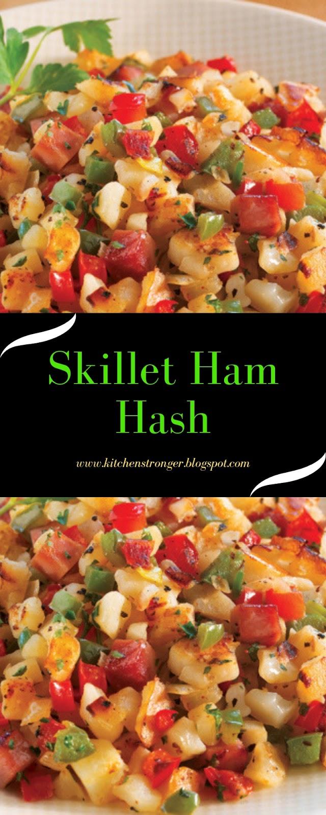 Skillet Ham Hash