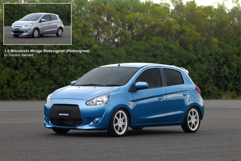 2014 Mitsubishi Mirage Wallpapers