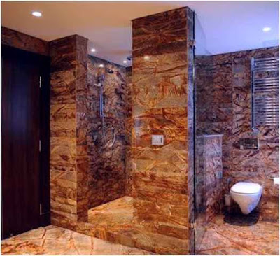 Exotic Bathroom Designs In Stone