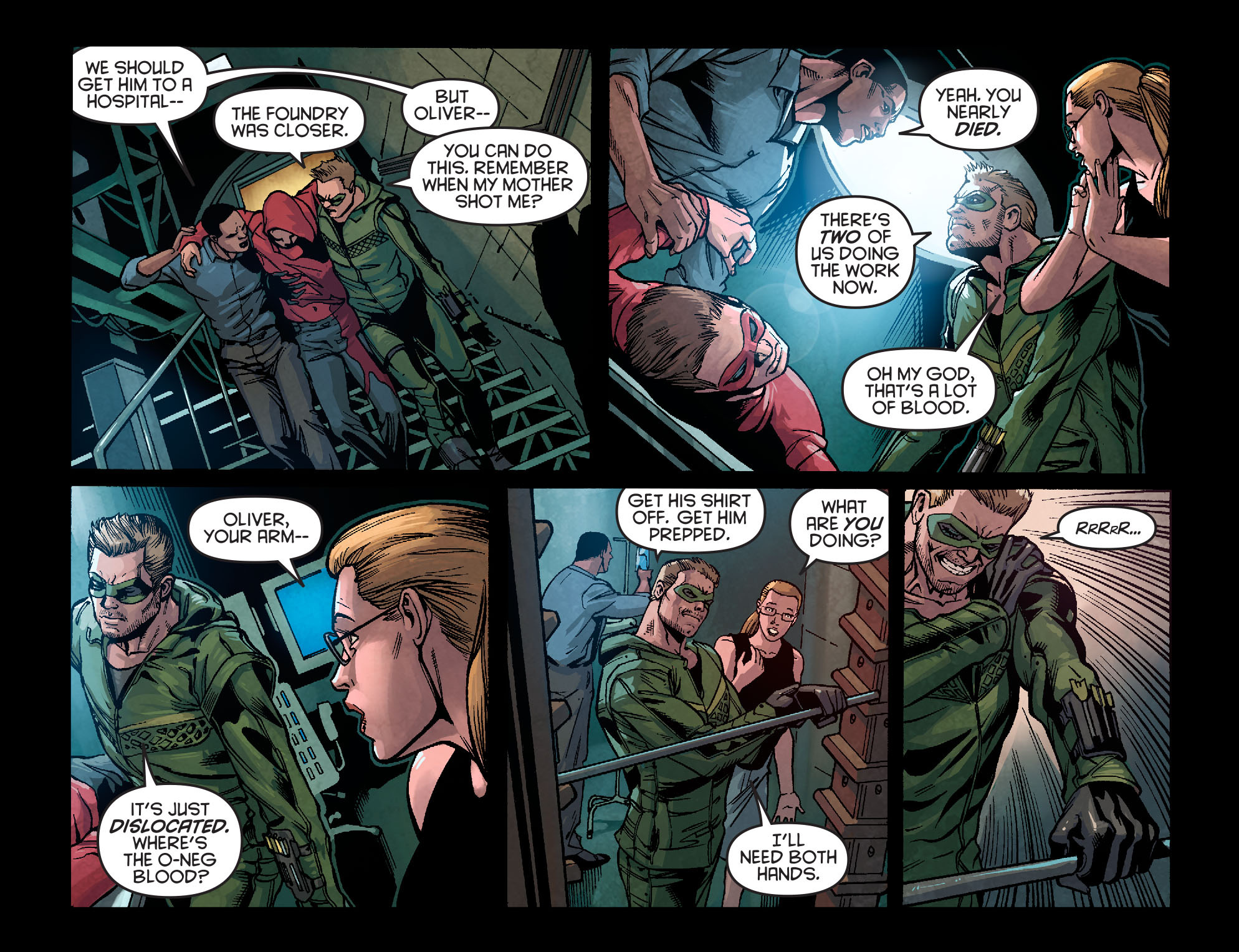 Read online Arrow: Season 2.5 [I] comic -  Issue #2 - 8