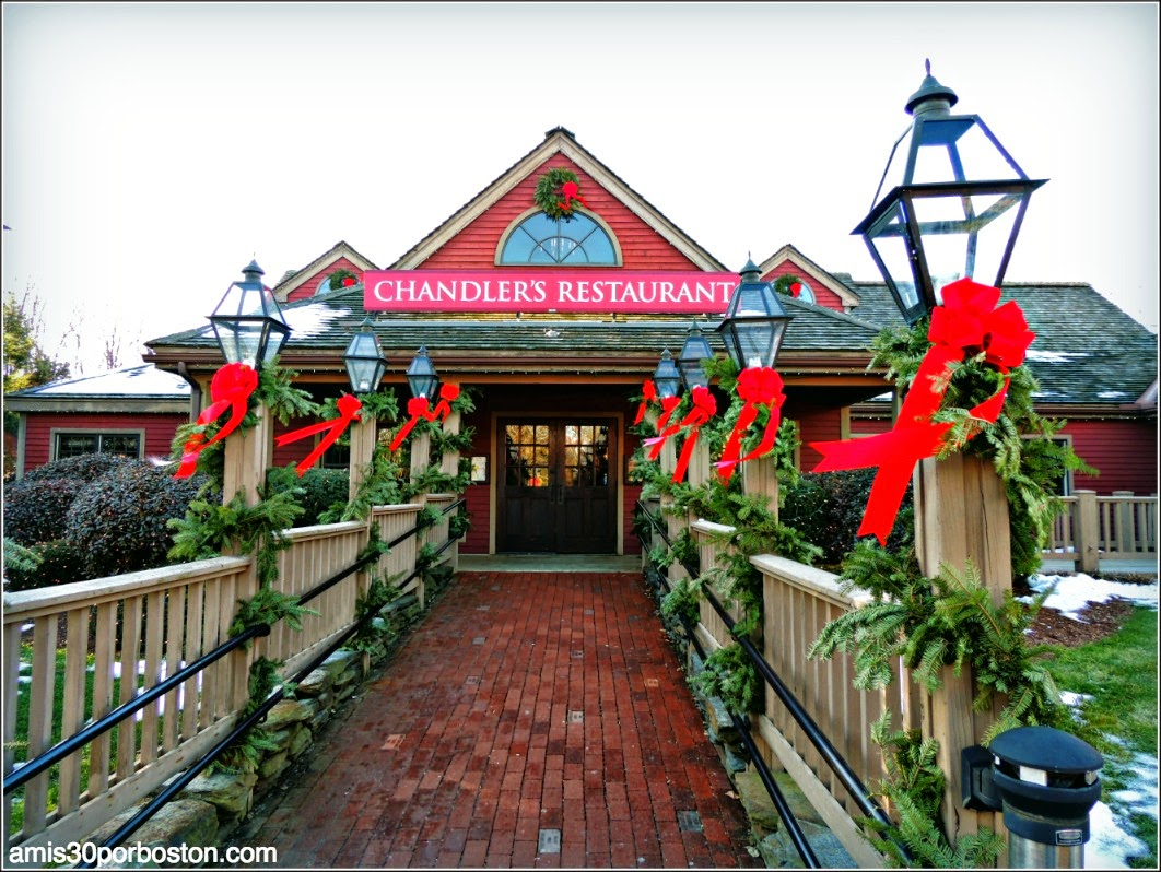 Yankee Candle Village: Chandler´s Restaurant