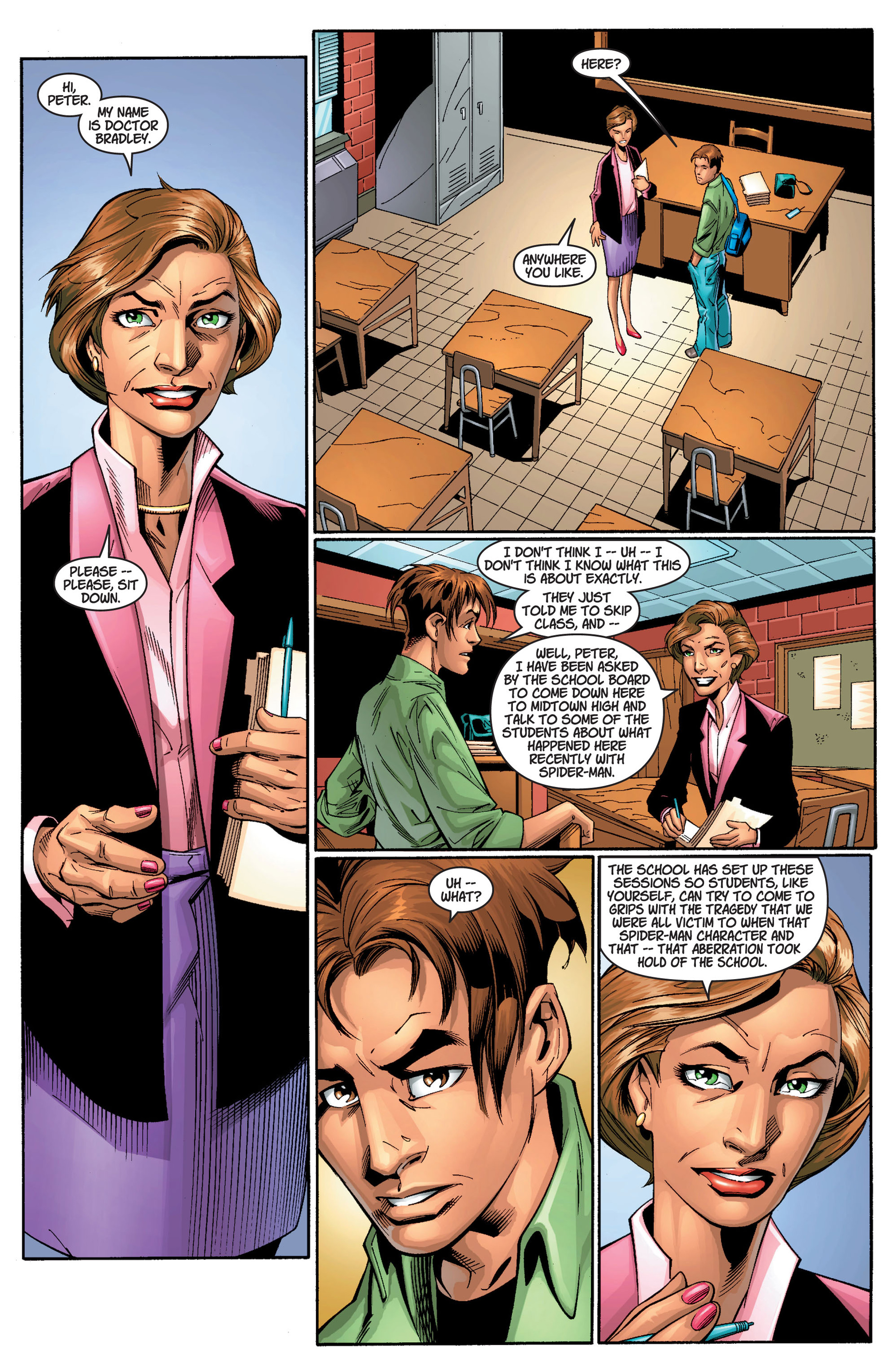 Read online Ultimate Spider-Man (2000) comic -  Issue #11 - 3