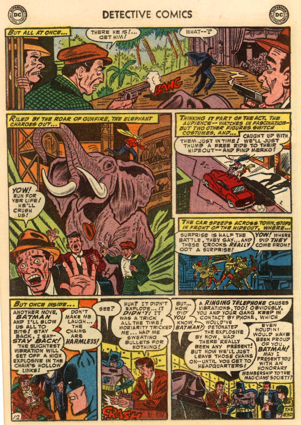 Detective Comics (1937) 207 Page 12