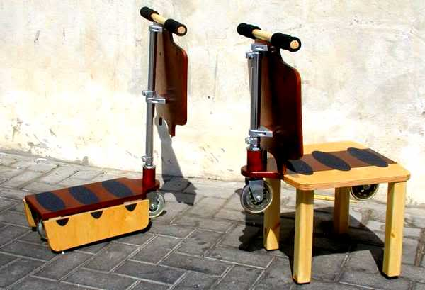 chaise trottinette
