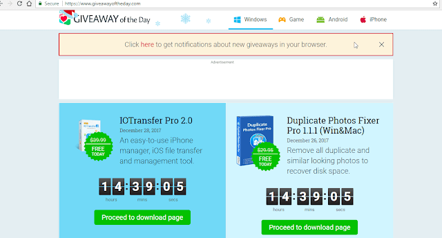 أحصل على برامج IOTransfer Pro و Duplicate Photos Fixer Pro بالمجان عرض محدود