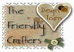Design team badge for The Friendly crafters