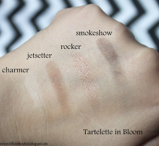Tarte Tartelette In Bloom Charmer Jetsetter Rocker Smokeshow