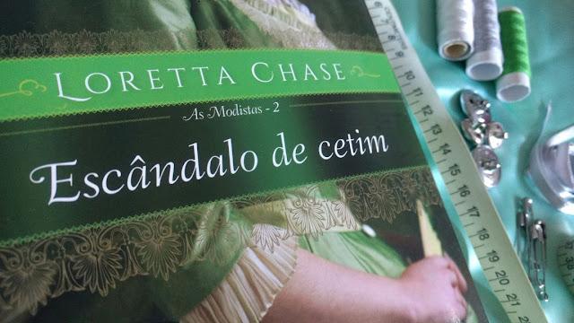 Resenha Livro Escândalo de Cetim