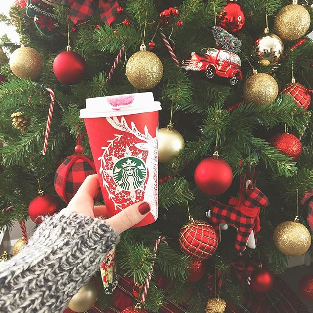 Holiday 2016 Starbucks Cups