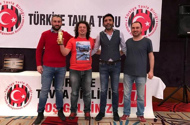4.Bursa Açık Turnuvası Şampiyonu Ali Çetin BELENE