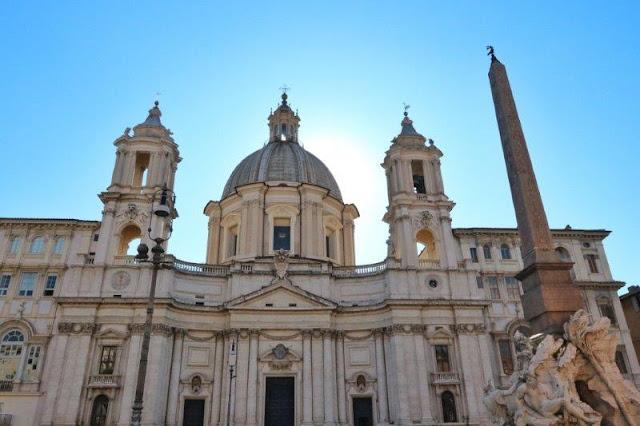 Sant'Agnese in Agone en Piazza Navona en Roma