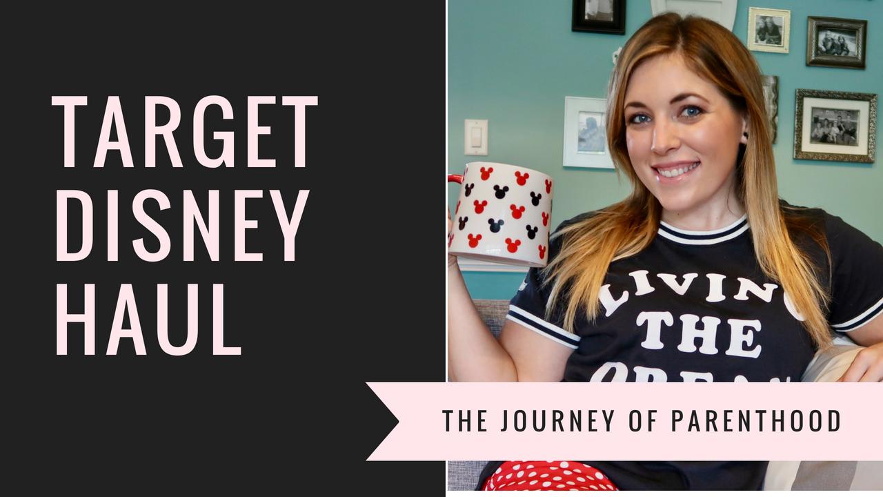 My Target Disney Haul: You Tube Channel!