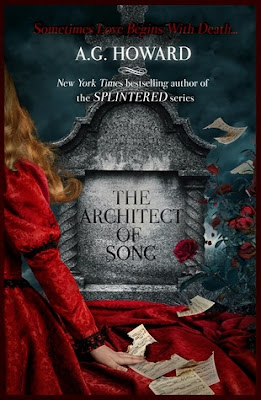 Amber the Blonde Writer: Waiting on Wednesday: The Architect of Song by A.G. Howard