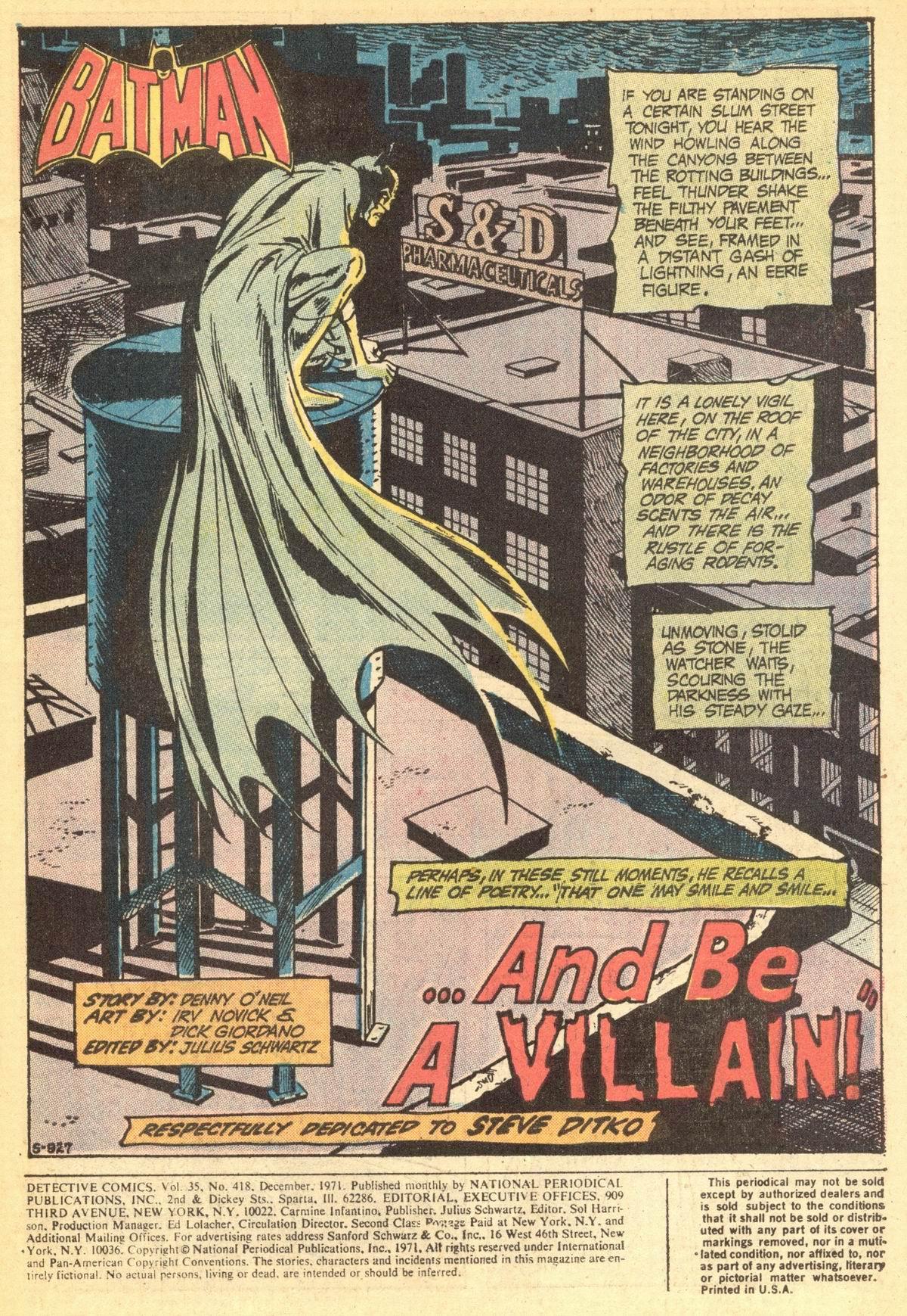 Detective Comics (1937) 418 Page 2