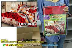 Sprei Fata Queen 160×200 Scarlet Bunga Merah Dewasa