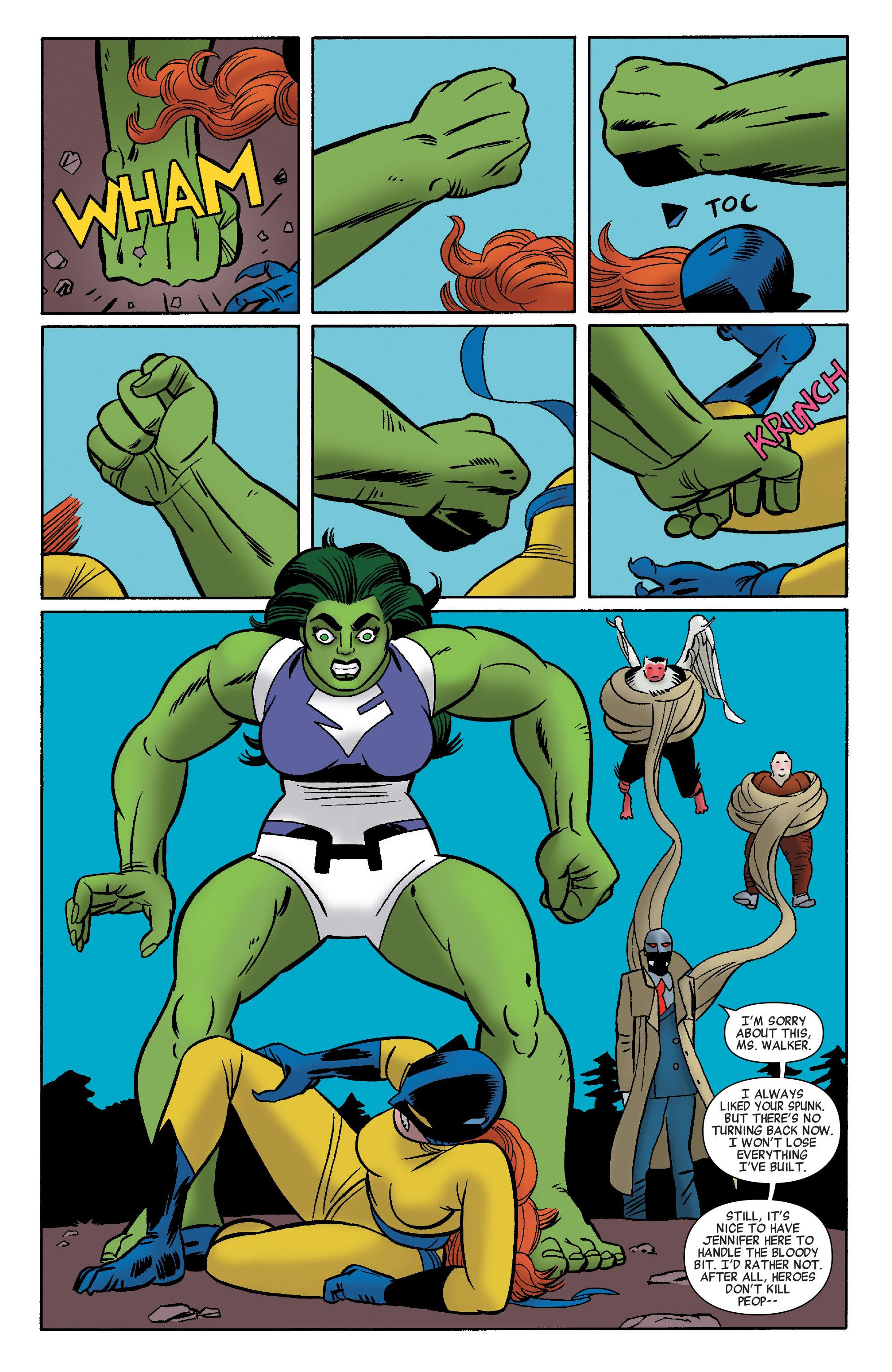 Read online She-Hulk (2014) comic -  Issue #12 - 13