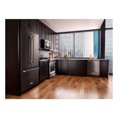 Kitchenaid Refrigerator Black Stainless krfc302ebs black stainless steel kitchenaid
