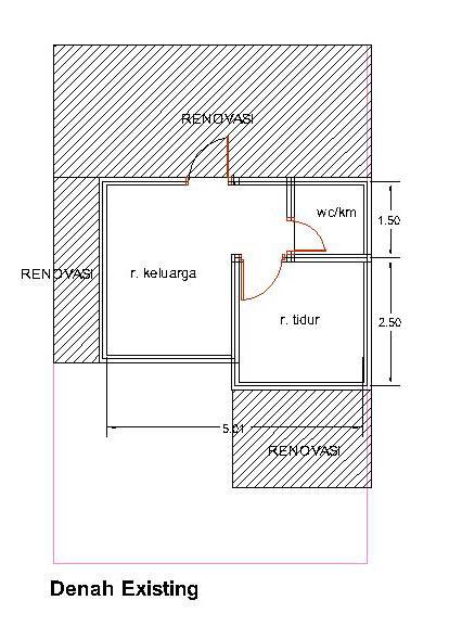 Gambar Desain Dan Denah Rumah Type 21 | Desain Rumah Terbaru