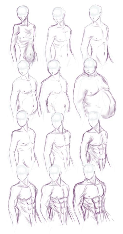 Como Desenhar Manga Masculina