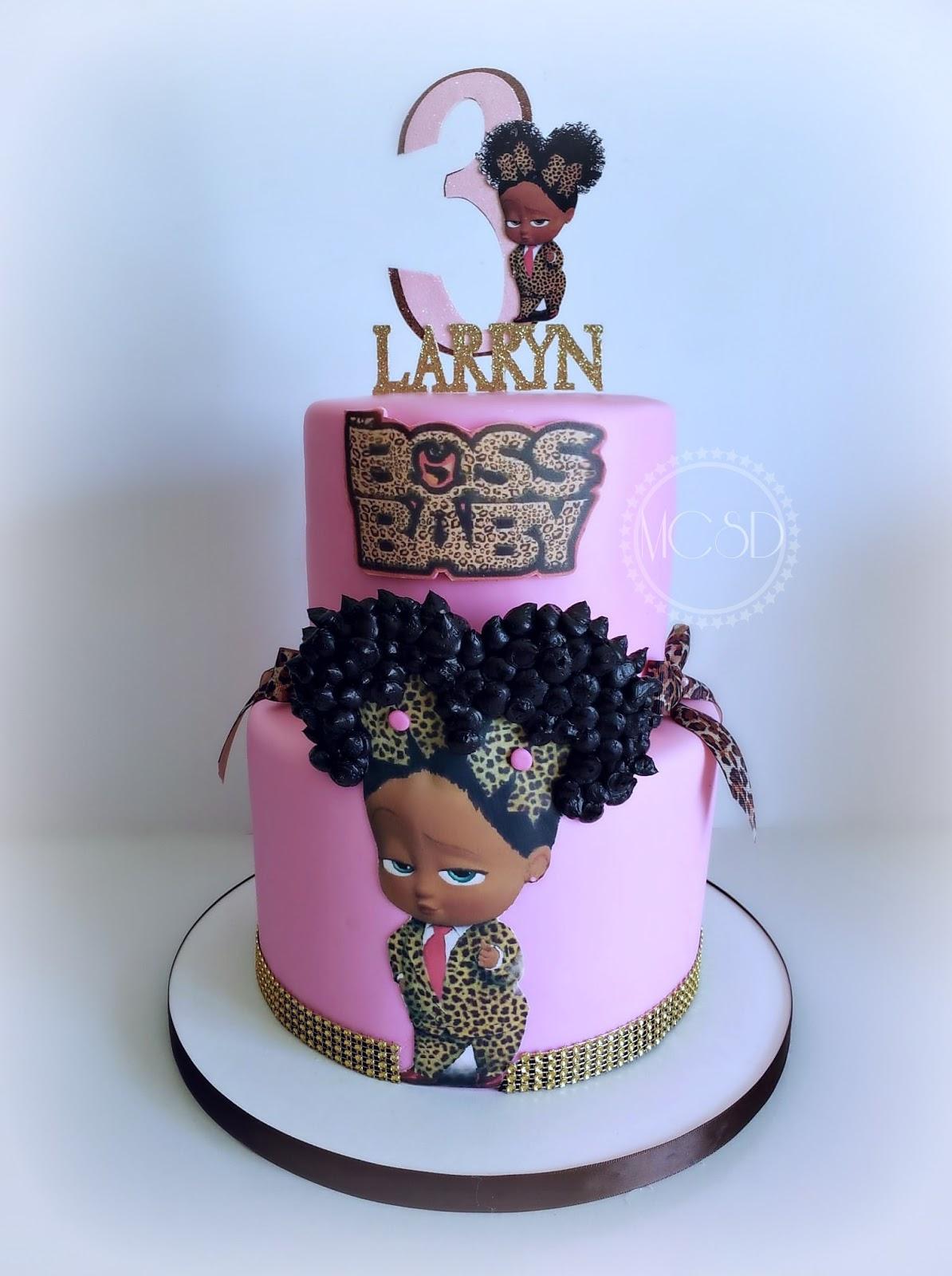 Cakesby Zana Boss Baby Cake