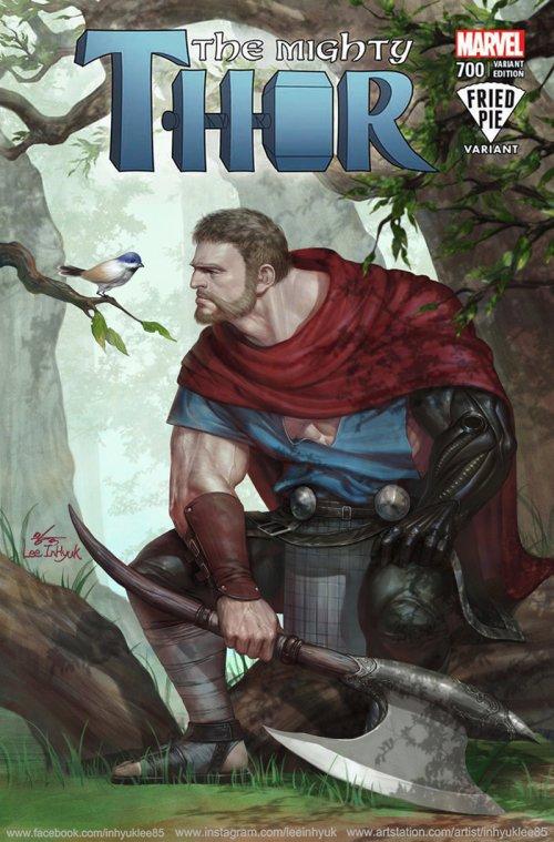 InHyuk Lee artstation arte ilustrações quadrinhos marvel dc super heróis