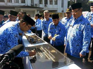 Peresmian Kantor Kelurahan Rancanumpang  oleh Wali Kota Bandung