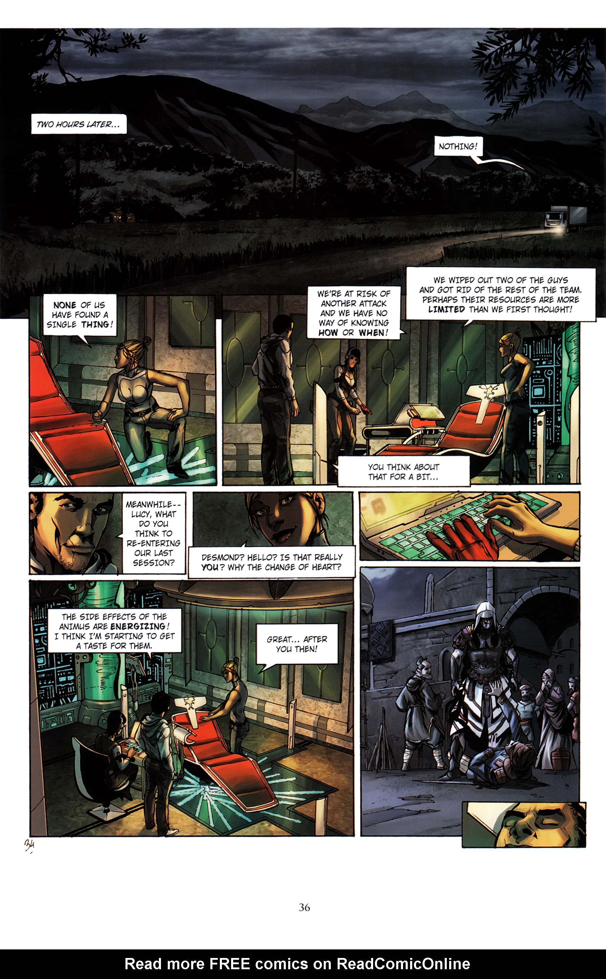 Read online Assassin's Creed (2012) comic -  Issue #2 - 40