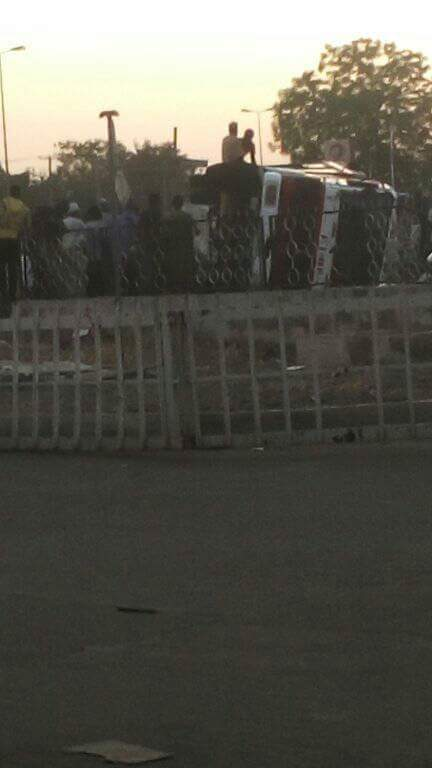 Fire Service Accident in Bauchi