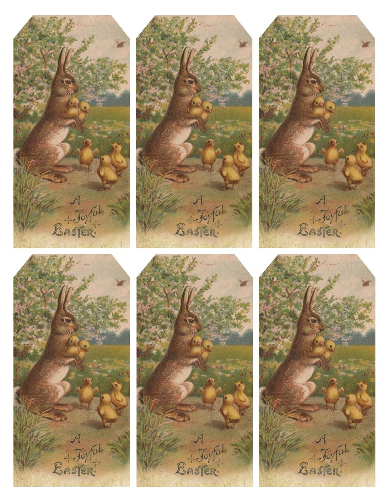 Lilac Amp Lavender Vintage Easter Bunny Amp Chicks