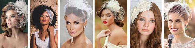 maquiagem para noivas negras  morenas mulatas usando voillete