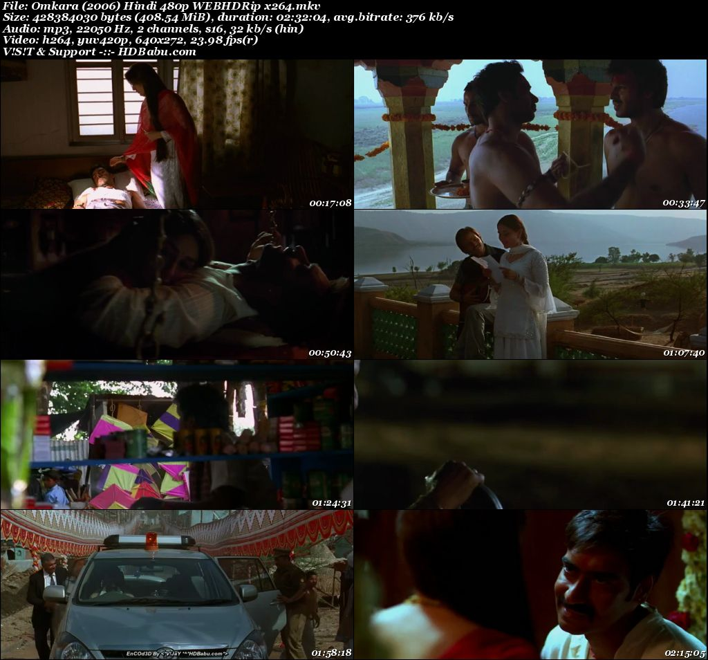 Omkara (2006) Hindi 480p WEBHDRip x264 Screenshot