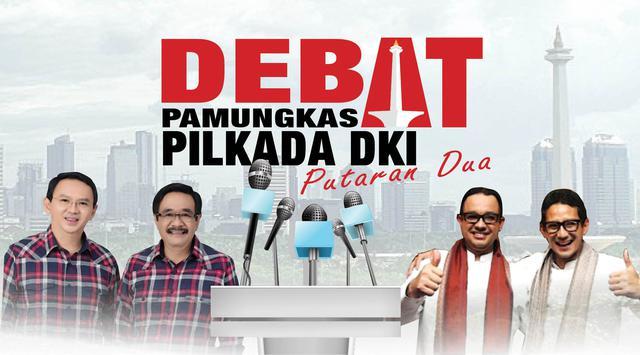 Debat Pamungkas Pilkada Jakarta Putaran Kedua, Debat Untuk Merebut Hati Warga DKI Jakarta