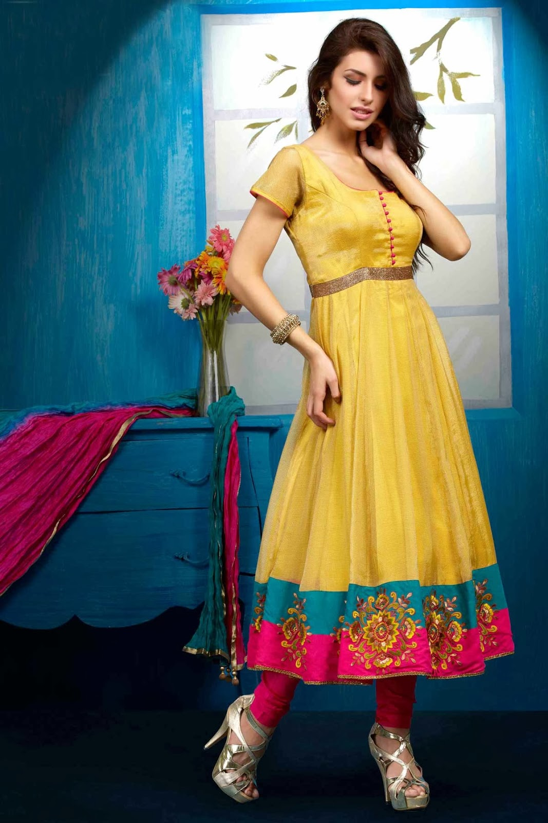 Indian ladies suits online shopping