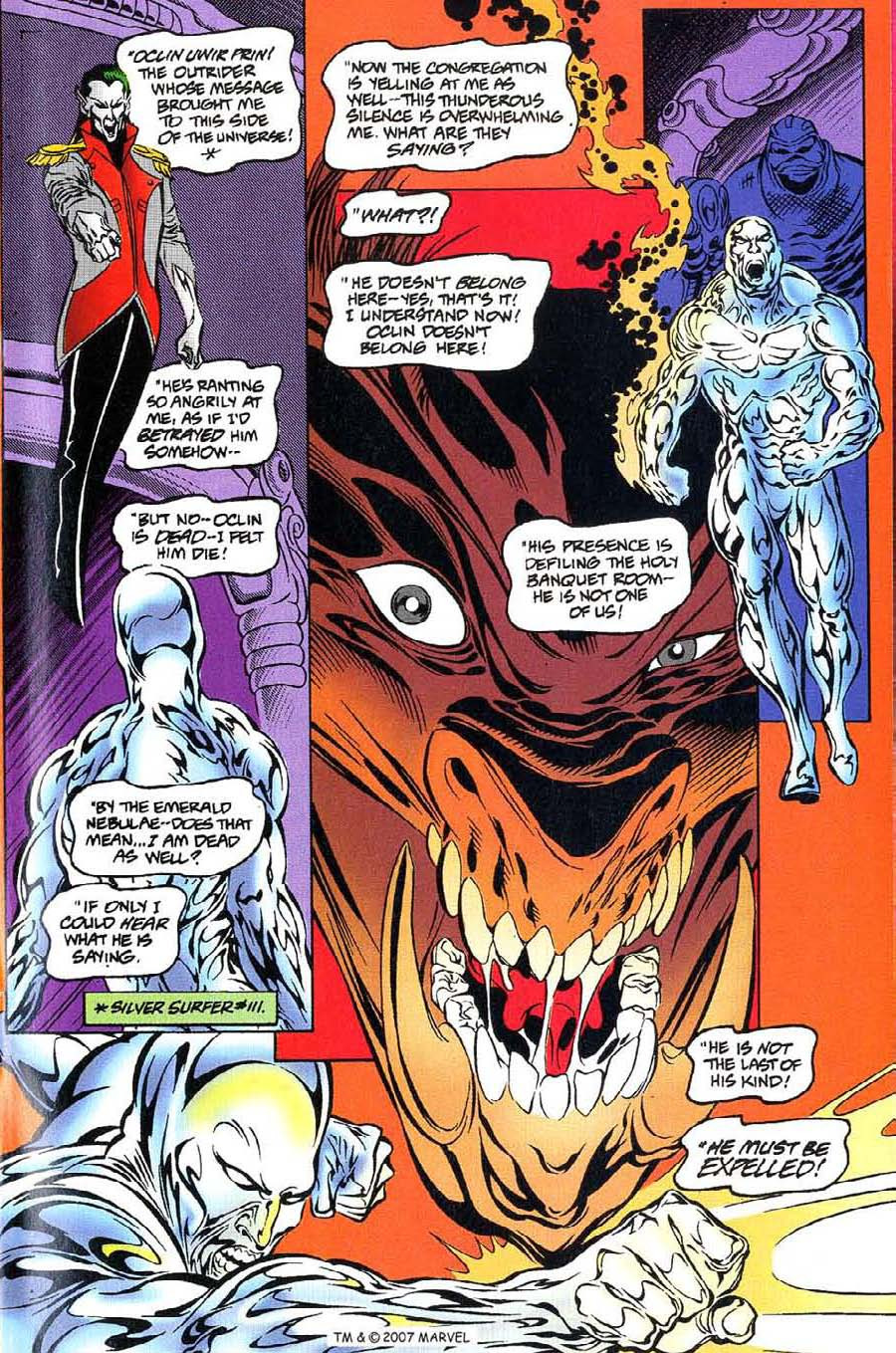 Read online Silver Surfer (1987) comic -  Issue #115 - 15