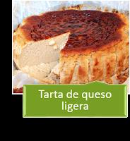 TARTA LIGERA DE QUESO