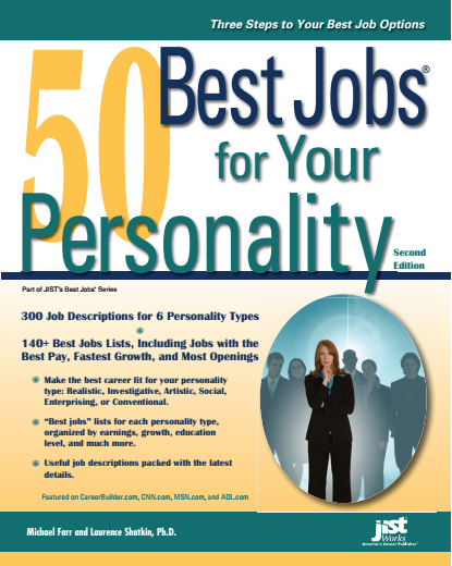 50 Best Jobs For Your Personality PDF Book Free Download