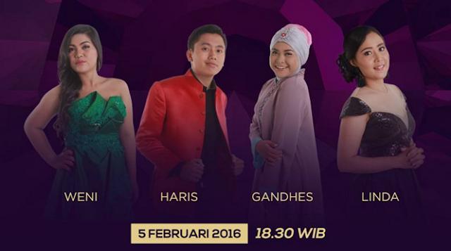 Peserta Dangdut Academy 3 yang Tersenggol Tgl 05 Februari 2016