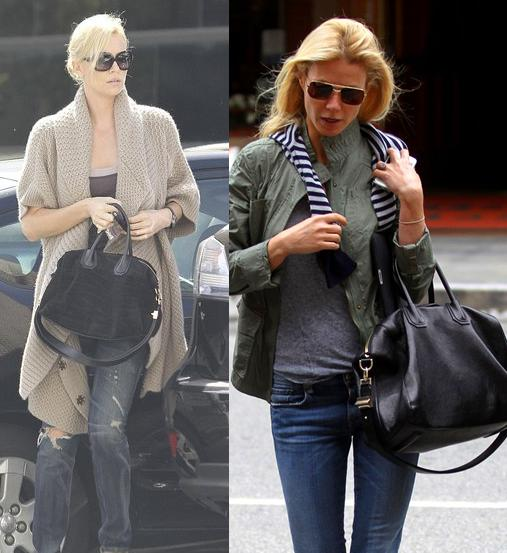 Antigona Bag Givenchy Charlize Theron Gwyneth Paltrow