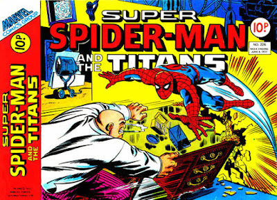 Super Spider-Man and the Titans #226, the Kingpin