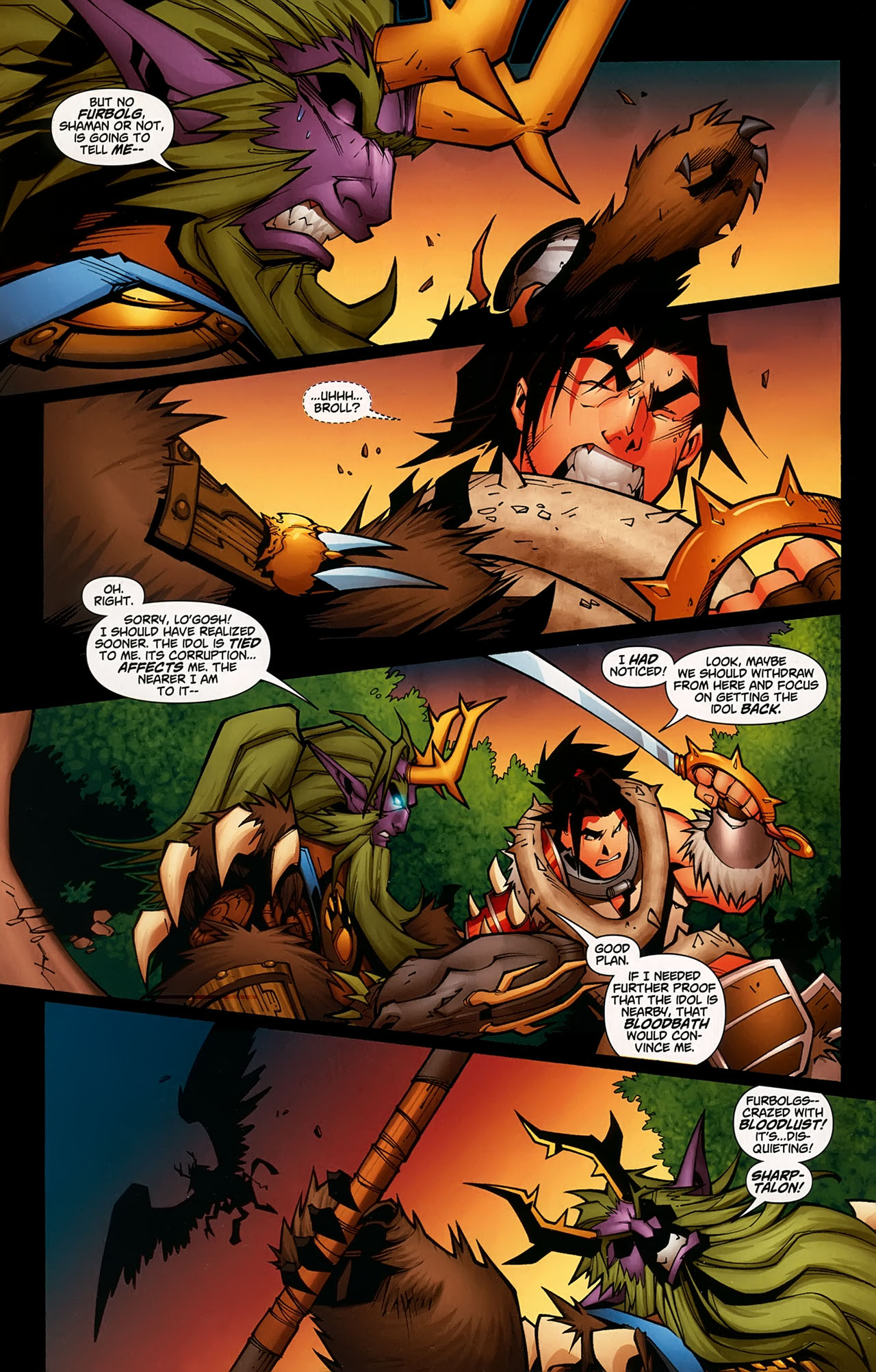 Read online World of Warcraft comic -  Issue #5 - 8