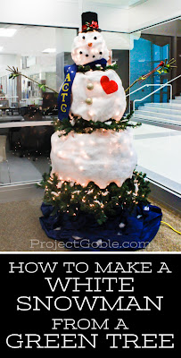 Snowman tree, Christmas tree ideas