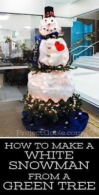 Snowman tree, Christmas tree ideas